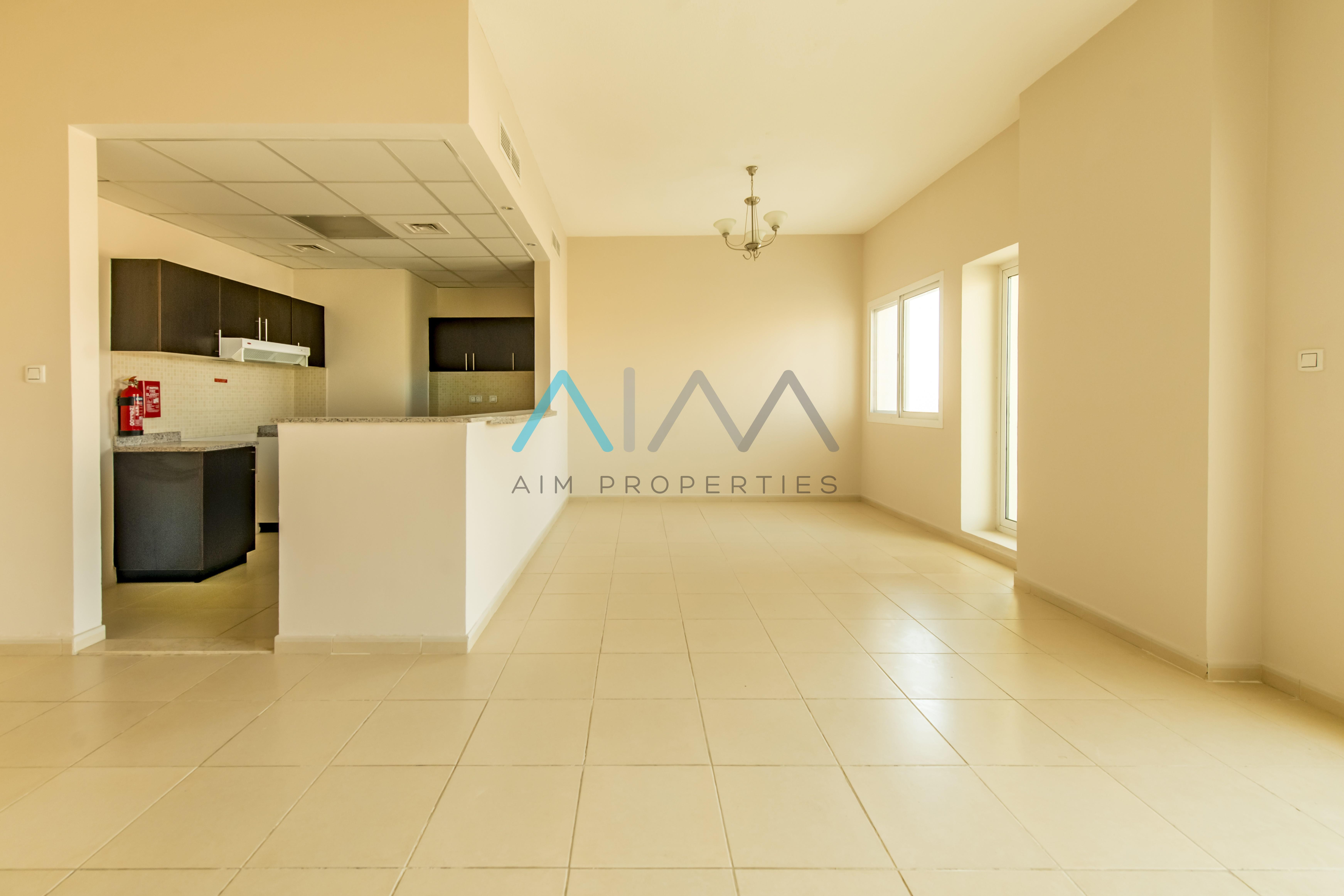 EXQUISITE LAYOUT WITH SQUARE SHAPE 1BR..